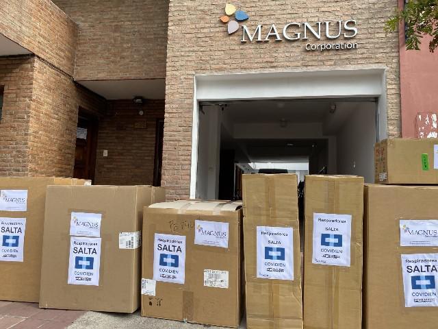 Salta compró otros 7 respiradores, importados desde EEUU