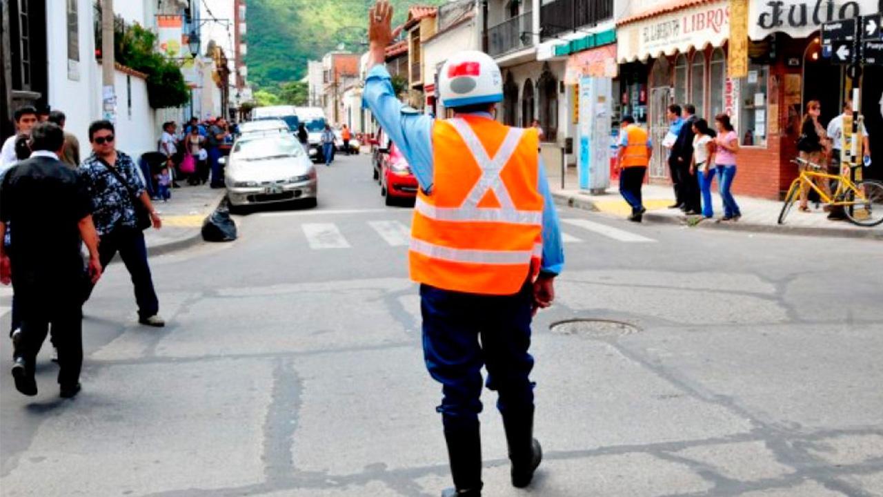 inspector de tránsito coimero