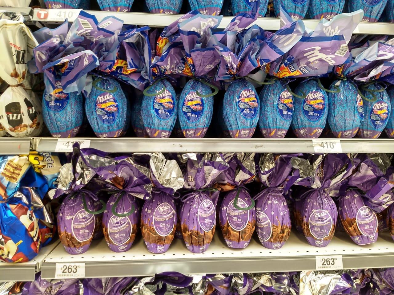 Resultado de imagen para huevos de pascuas supermercados