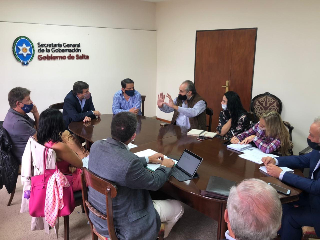 Reunión Desarrolladores - Gobierno