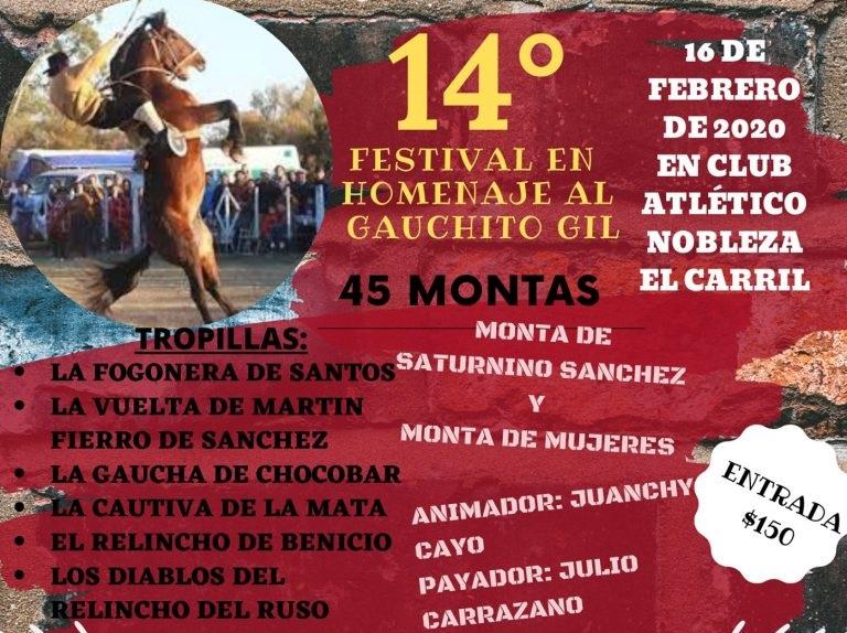 El Carril aviva su devoción con el Festival Homenaje a Gauchito Gil