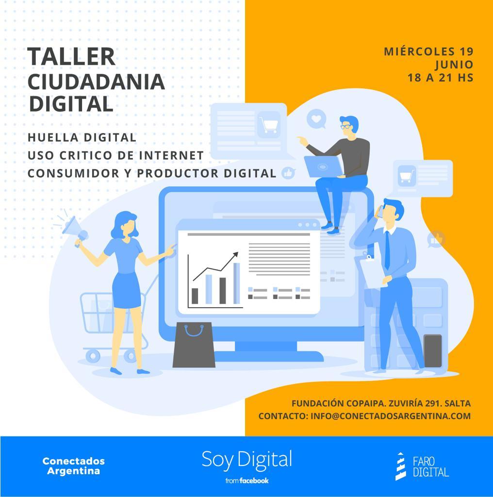 #SoyDigital, un espacio para reflexionar sobre problemáticas de la era digital