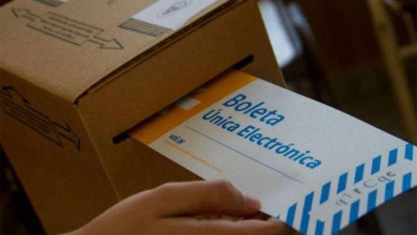voto elecciones electronico