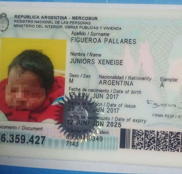 Aficionado de Boca nombra a su hijo Juniors Xeneise
