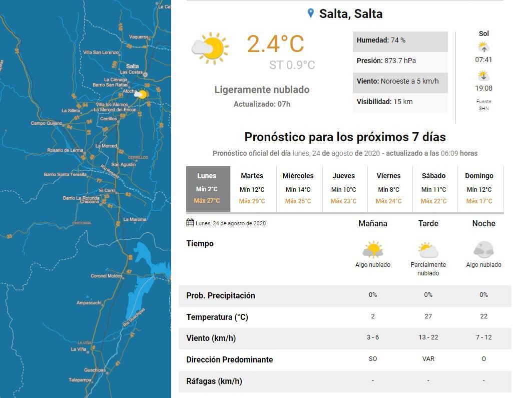 clima lunes 24