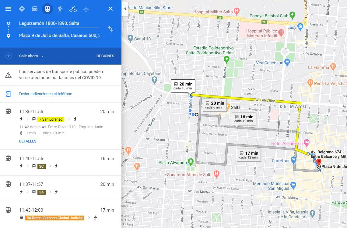 maps saeta google