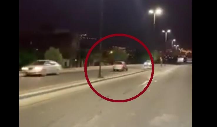 Buscan identificar al imprudente que manejó en contramano por Av. Perón