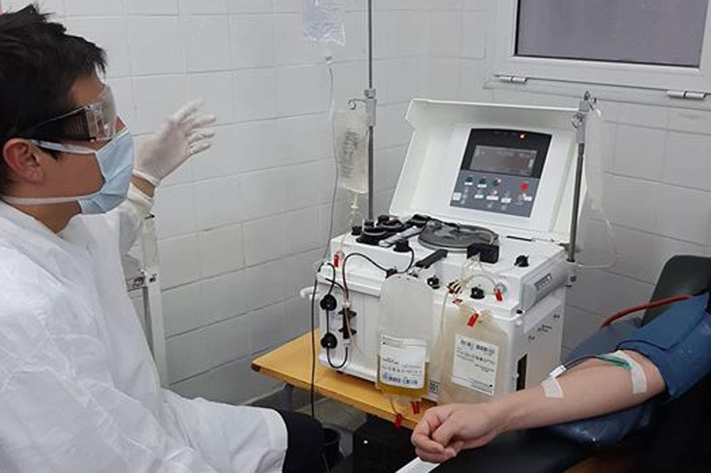 plasma de pacientes recuperados