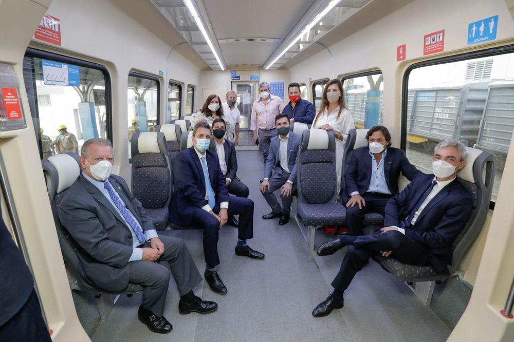 tren autoridades