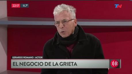 El insulto de Gerardo Romano a Cristina — Después de Brancatelli