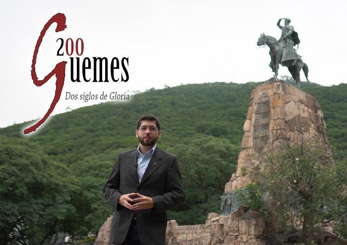 Documental Güemes - Juan Anachuri - Logo