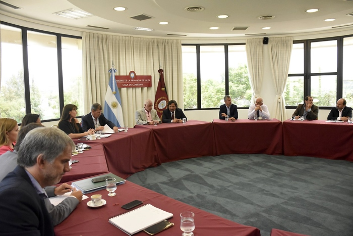 saenz - reunion de gabinete