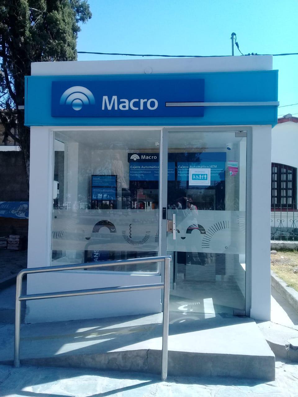 cajero Banco Macro en Campo Quijano2