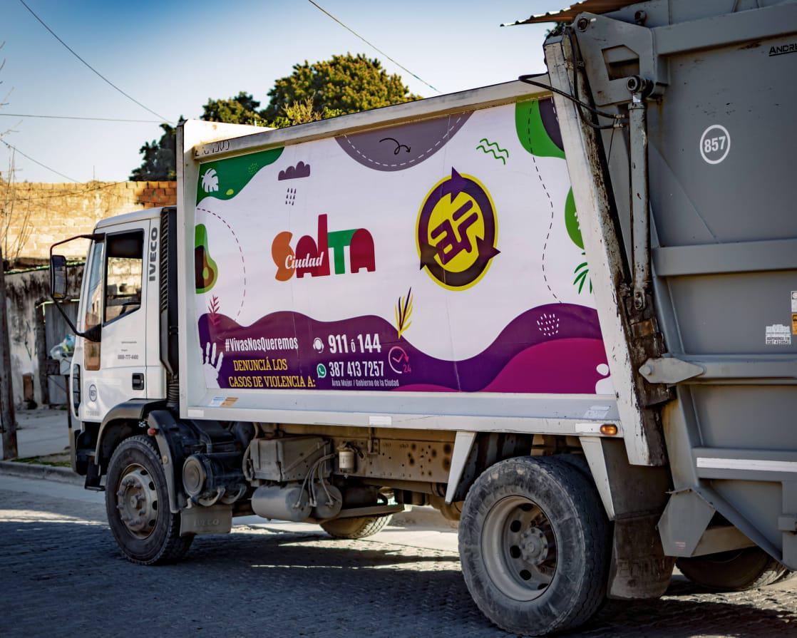 camion agrotecnica basura