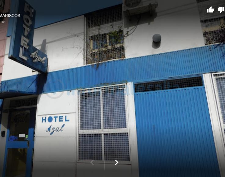 hotel azul - buenos aires