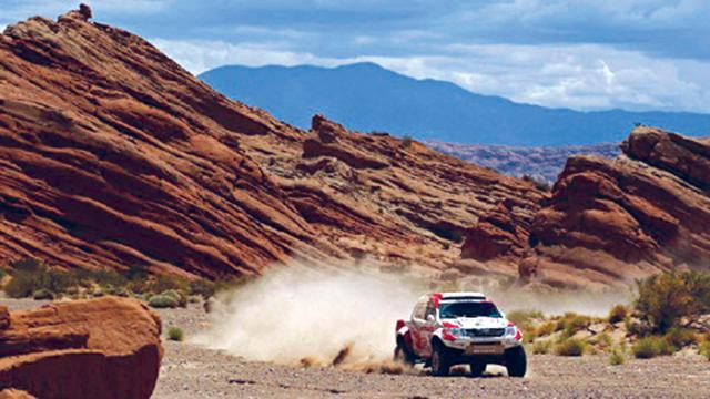 El Dakar llegó a Salta
