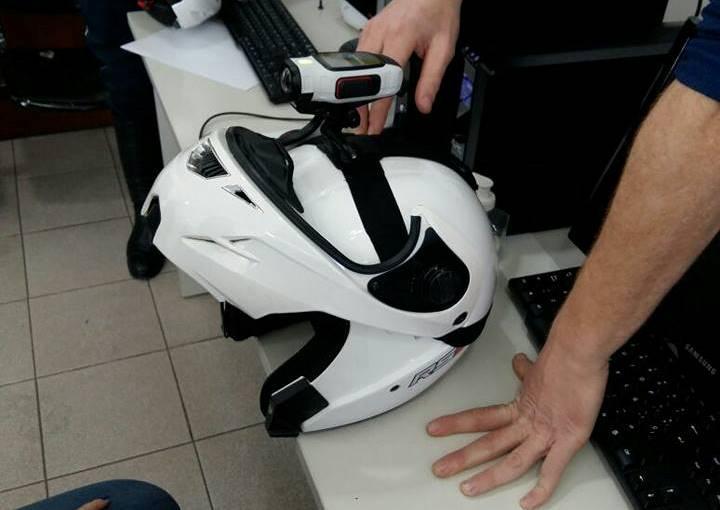 cascos filmadores