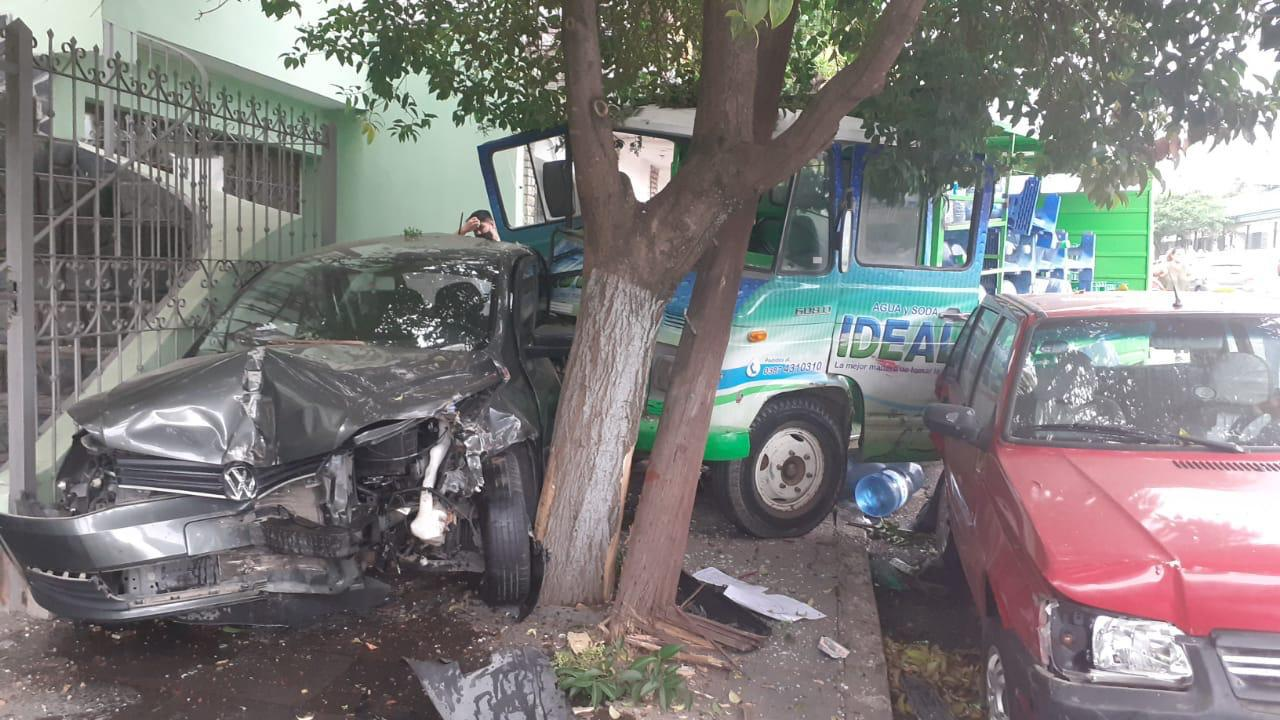 accidente camión