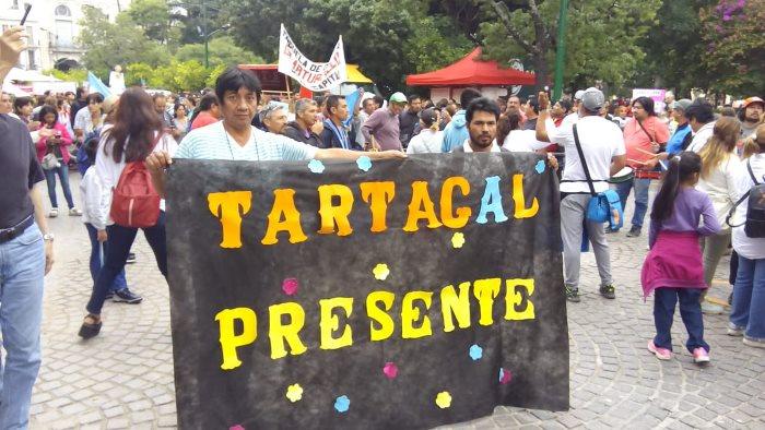 marcha plaza 9 de julio