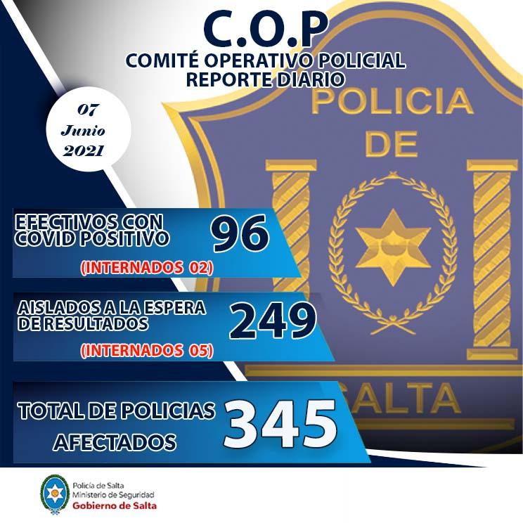 policias con covid
